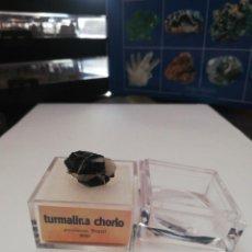 Coleccionismo de minerales: EL MUNDO DE LOS MINERALES TURMALINA CHORLO. Lote 217250846