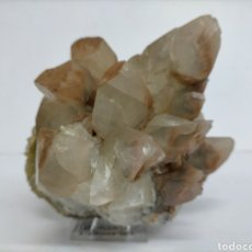 Coleccionismo de minerales: FLUORITA + CALCITA -ASTURIAS - MINERAL. Lote 217782253