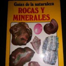Coleccionismo de minerales: ROCAS Y MINERALES GUÍAS DE LA NATURALEZA. Lote 219108950