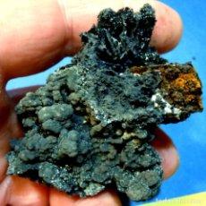 Colecionismo de minerais: ROMANECHITA-CABEZO DE SAN GINÉS-MURCIA W-367. Lote 222307575