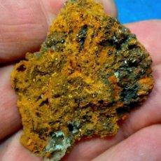 Colecionismo de minerais: HEMIMORFITA Y CALCOFANITA-MAPIMI-MÉXICO W-351. Lote 222309486