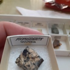 Coleccionismo de minerales: MINERAL FOSFOSIDERITA CAJA 4X4CM ENVIO GRATIS, LEAN TEXTO. Lote 223938247