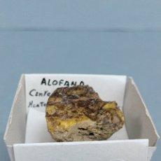 Coleccionismo de minerales: ALOFANA-MINERAL. Lote 224417755