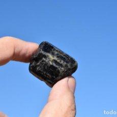 Coleccionismo de minerales: TURMALINA NEGRA CHORLO DE BRASIL, EJEMPLAR DE 45 GRAMOS - BLACK TOURMALINE. Lote 225132621