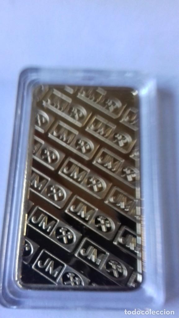 Coleccionismo de minerales: Lingote de JOHNSON MATTHEV copia - Foto 2 - 226503730