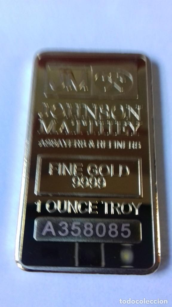 Coleccionismo de minerales: Lingote de JOHNSON MATTHEV copia - Foto 9 - 226503730