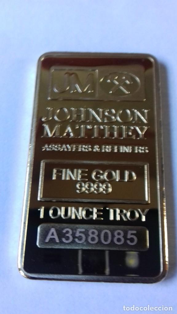 Coleccionismo de minerales: Lingote de JOHNSON MATTHEV copia - Foto 12 - 226503730