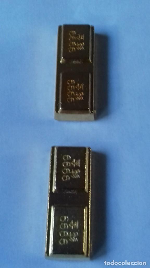 Coleccionismo de minerales: Dos lingotes Chinos de la diosa de la fortuna - Foto 3 - 226504320