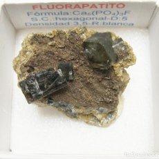 Coleccionismo de minerales: FLUORAPATITO. Lote 226918432