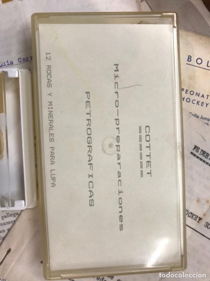 Coleccionismo de minerales: Micro preparaciones petrográficas para lupa - Foto 2 - 227067230