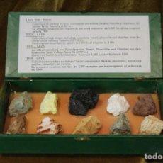 Collezionismo di minerali: COLECCIÓN DE PIEDRAS VOLCÁNICAS DEL TEIDE. Lote 231624875