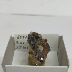 Colecionismo de minerais: ESFALERITA - MINERAL. Lote 232713195