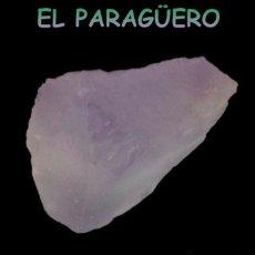 Coleccionismo de minerales: EMETRINO EN BRUTO PURPURA DE 23,05 KILATES CERTIFICADO AGI MEDIDA 2,4X1,6X1,1 CENTIMETROS-P4. Lote 233323410