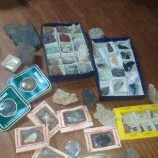 Colecionismo de minerais: LIQUIDACIÓN! COLECCIÓN COMPLETA DE MINERALES. Lote 234512645