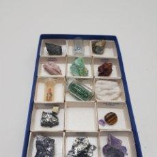 Collezionismo di minerali: CAJA DE MINERALES. Lote 234717075