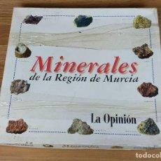 Collezionismo di minerali: MINERALES DE LA REGION DE MURCIA COLECCIONABLE LA OPINION. Lote 235412415