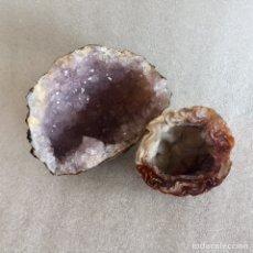 Coleccionismo de minerales: GEODAS DE AMATISTA. Lote 235925300
