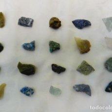 Coleccionismo de minerales: 1 LOTE DE 20 MINERALES LOTE 3. Lote 236195170