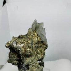 Coleccionismo de minerales: PIRITA CON BARITA Y GALENA. Lote 238509295