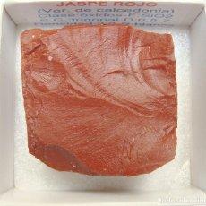 Coleccionismo de minerales: JASPE ROJO. Lote 238858960