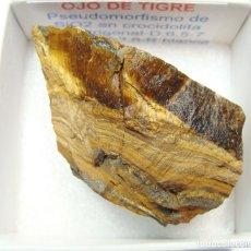 Coleccionismo de minerales: OJO DE TIGRE. Lote 240938080