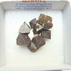 Coleccionismo de minerales: MARTITA CON IMÁN. Lote 240944275