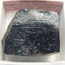 Coleccionismo de minerales: OBSIDIANA. Lote 240945990