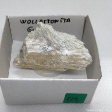 Coleccionismo de minerales: WOLLASTONITA - MINERAL. Lote 241910640