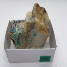 Colecionismo de minerais: BARITA ,AZURITA,MALAQUITA.. Lote 242166545