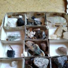Coleccionismo de minerales: COLECCIÓN MINERALES. Lote 242253165