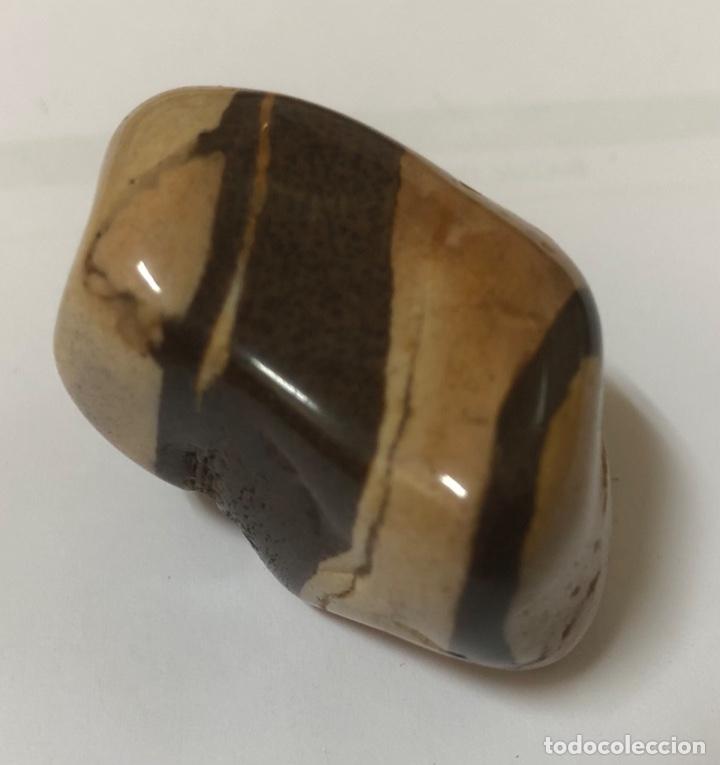 BONITA PIEDRA MINERAL OJO DE TIGRE (Coleccionismo - Mineralogía - Otros)