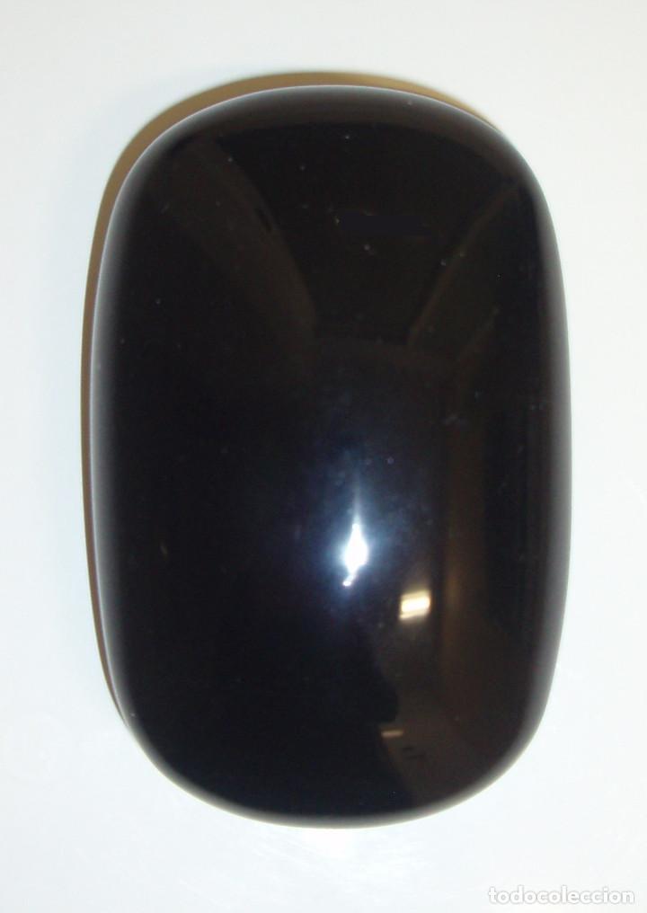 OBSIDIANA NEGRA PULIDA. 352 GRAMOS. MÉJICO. (Coleccionismo - Mineralogía - Otros)