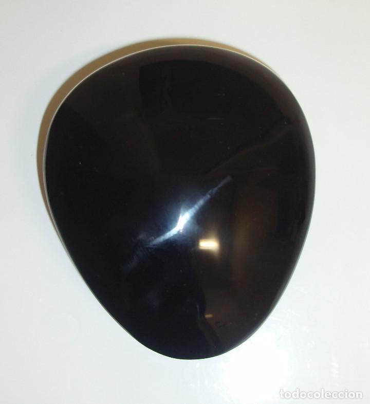 Coleccionismo de minerales: OBSIDIANA NEGRA PULIDA. 482 GRAMOS. MÉJICO. - Foto 2 - 244827240