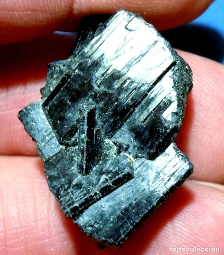 TURMALINA-MINAS GERAES-BRASIL U-647 (Coleccionismo - Mineralogía - Otros)