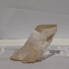 Coleccionismo de minerales: GEODA DE CUARZO PESO 235 GRAMOS, MEDIDAS EN LAS FOTOGRAFÍAS. VER FOTOS.. Lote 245490710