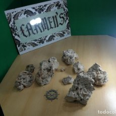 Coleccionismo de minerales: LOTE DE ESPECIE DE PIEDRAS VOLCANICAS IDEAL PARA ACUARIO, MACETAS, JARDIN O ORNAMENTACIÓN. Lote 246108855