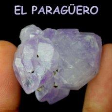 Coleccionismo de minerales: EMETRINO VIOLETA EN BRUTO DE 68,80 KILATES CERTIFICADO AGI MEDIDA 2,9X2,6X1,7 CENTIMETROS-BRU1. Lote 247782015