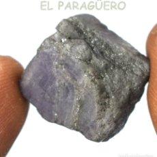 Coleccionismo de minerales: TANZANITA AZUL EN BRUTO DE 42,45 KILATES CERTIFICADO AGI MEDIDA 1,9X1,6X1,2 CENTIMETROS-BRU3. Lote 247783625