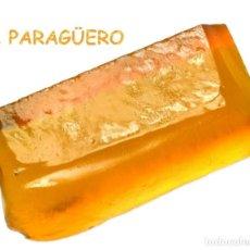 Coleccionismo de minerales: CITRINO AMARILLO EN BRUTO DE 128,10 KILATES CERTIFICADO AGI MEDIDA 4,1X1,8X1,5 CENTIMETROS-BRU4. Lote 247784780