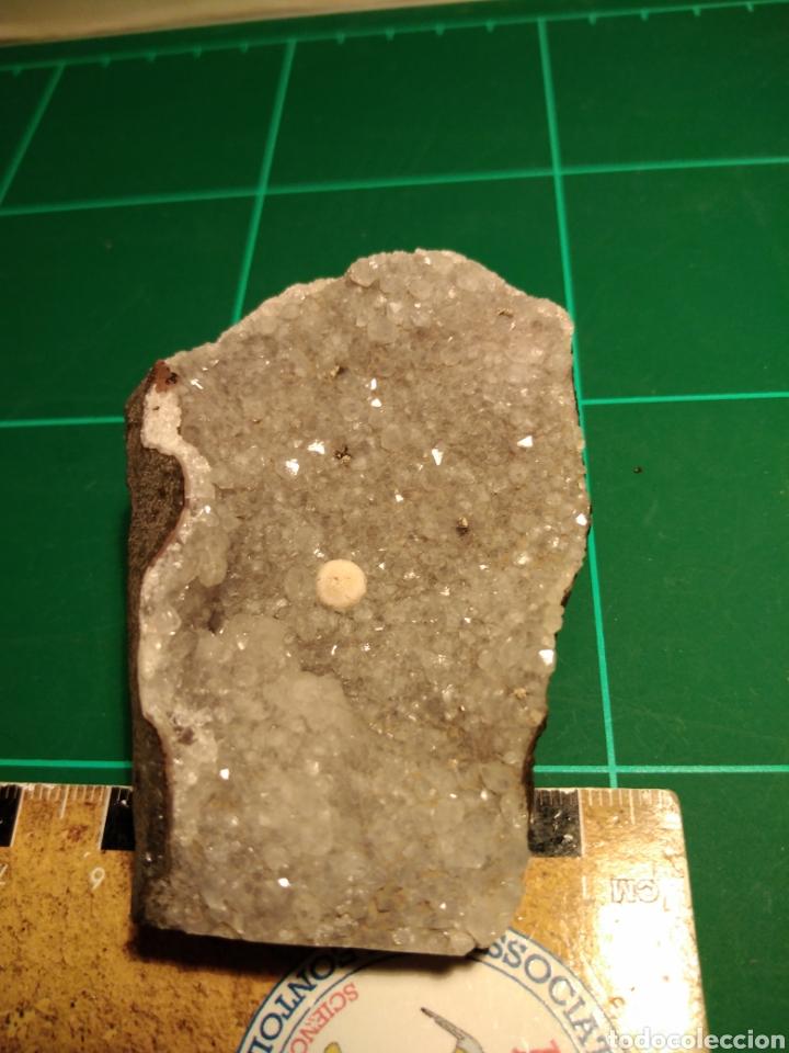 Coleccionismo de minerales: MINERAL CRISTALIZADO DE DE FLUORITA EN CUARZO. INDIA. - Foto 4 - 249227405
