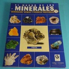 Coleccionismo de minerales: 22 PRIMEROS FASCÍCULOS EL MUNDO DE LOS MINERALES. JAVIER FERRERES. CADA FASCÍCULO A 2,75 €. ORBIS. Lote 251933165