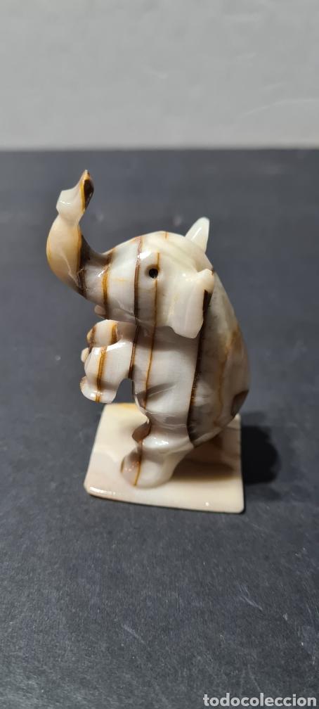 Coleccionismo de minerales: Precioso Elefante de onix o similar. - Foto 3 - 253446740