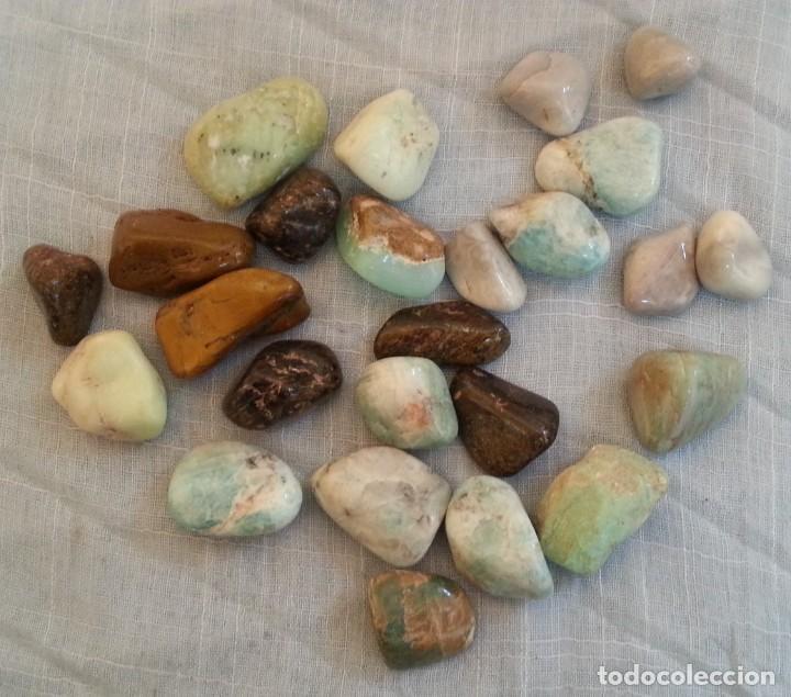 Coleccionismo de minerales: Piedras y Minerales. 24 Unidades. - Foto 2 - 254318080