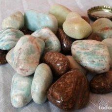 Coleccionismo de minerales: PIEDRAS Y MINERALES. 24 UNIDADES.. Lote 254319770