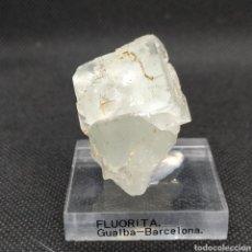 Coleccionismo de minerales: FLUORITA - MINERAL. GUALBA-BARCELONA. Lote 255922100