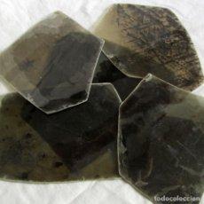 Coleccionismo de minerales: 6 PLACAS GRANDES DE MICA BIOTITA MOZAMBIQUE. Lote 258978905