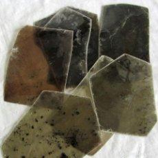 Coleccionismo de minerales: 8 PLACAS GRANDES DE MICA BIOTITA MOZAMBIQUE. Lote 258992220