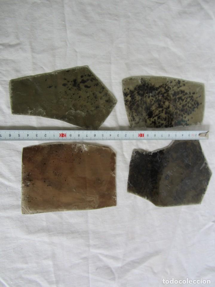 Coleccionismo de minerales: 8 placas grandes de mica biotita Mozambique - Foto 7 - 258992220