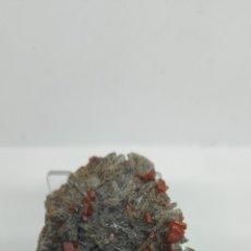 Coleccionismo de minerales: VANADINITA SOBRE BARITA. Lote 271390723
