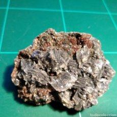 Coleccionismo de minerales: MINERAL CRISTALIZADO DE CALCITA Y SIDERITA. RUMANÍA.. Lote 272460298